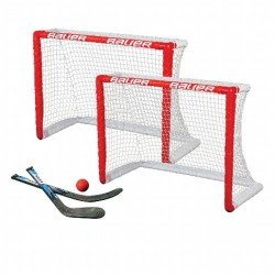 BAUER KNEE HOCKEY 2ER SET